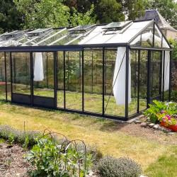 Serre de jardin en verre trempé SUPRA 28,60 m² - Aluminium