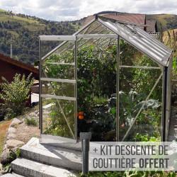 serre de jardin en verre vénus 7500 - lams