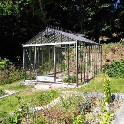 Serre de jardin Luxia Retro 3,09x3,80m RAL7033