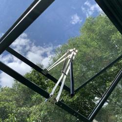 Ouverture automatique sur lucarne de toiture Natura