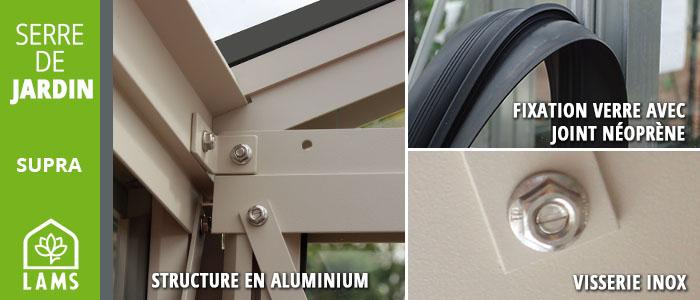 Structure aluminium