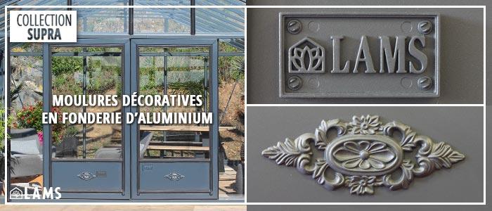 Moulures serres en aluminium LAMS