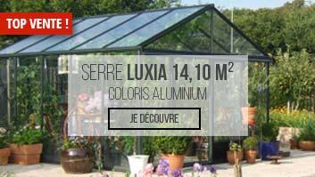 Meilleure vente serre de jardin Luxia