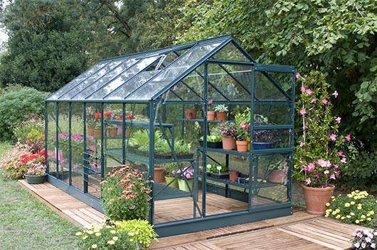 Serre de jardin aluminium Natura