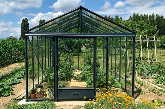 Serre de jardin aluminium Luxia
