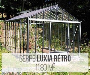 Serre Luxia Rétro 11,80 m²