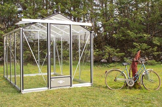 Serre de jardin aluminium Essentia